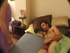 French Old and Young, Blowjob, French, Mature, Mom, Old and Young