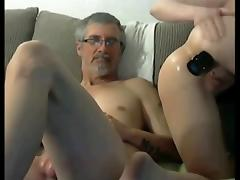 Daughter, Amateur, Teen, Old and Young, Dad, Dad and Girl