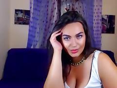 Webcam, Amateur, Brunette, MILF, Solo, Webcam