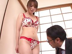 Sexy Yuino moans as the guy ravages her inner depths with a dick