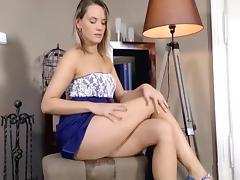 Joanna Showing Her Bush