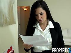 PropertySex - Ruthless real estate agent fucks big dick porn tube video