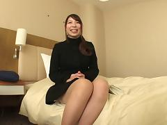 Japanese cutie with huge hooters giving her man a really nice blowjob porn tube video