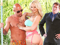 Sarah Vandella in Seduced By The Boss's Wife, Scene #01