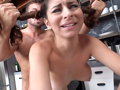 Nina North in All Natural Cutie With Pigtails - LatinaSexTapes