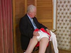 Old, Old, Old Man, Punishment, Spanking