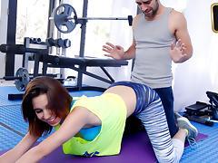 Cece Capella in Cum Squeeze Workout   - TeamSkeet