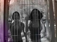 Chicas Loca - Hot Romanian and Spanish babes fuck each other and squirt outdoors tube porn video