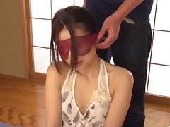 Mayuka Akimoto receives toys on both her hairy holes porn tube video
