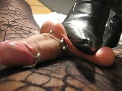 sadobitch - her worm under my boots tube porn video