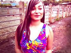 Carne Del Mercado - Latina babe Jennifer Rojas likes her big fat ass fucked tube porn video