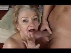Grandma, Fucking, Granny, Mature, Old, Swallow