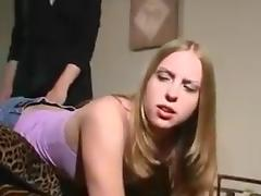 Spanking, Punishment, Sofa, Spanking, Bend Over