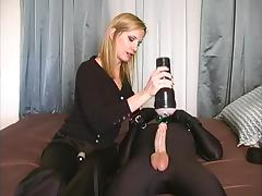 Cum Control - Blonde wife toys slave porn tube video