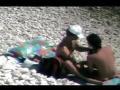 Hidden camera on the beach 4