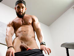 Pascal & Zack in Home Gym Inauguration XXX Video - MaskUrbate