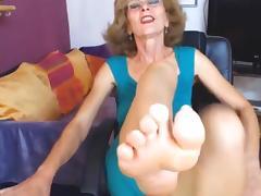 Grandma, Amateur, Feet, Granny, Mature, Old