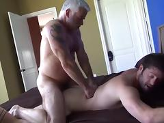 Pleasing grandpa porn tube video