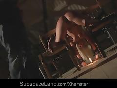 Sub slave perverse humiliation fucked drilled with bdsm cum porn tube video