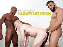 Osiris Blade & Caleb King & Damian Flexxx in Humping Iron XXX Video - NextdoorEbony