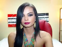Shemale April Doll porn tube video