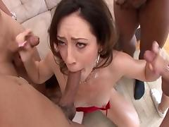 Amazing pornstar Sarah Shevon in horny facial, group sex adult video porn tube video