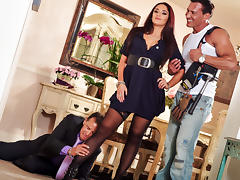 Sheena Ryder & Marco Banderas in Seduced By The Boss's Wife #04, Scene #03