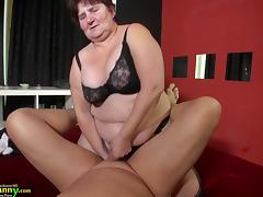 BBW and slim granny gone sexual compilation porn tube video