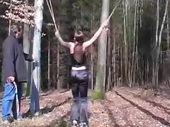 Female thief whipped tube porn video