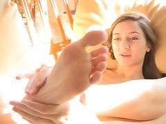 Claire's Feet Rubbing