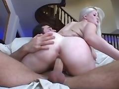 Best pornstar Charlotte Stokely in hottest big butt, blonde porn scene porn tube video