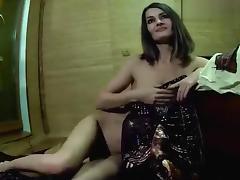 Naked housewife Domosedka