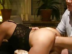 Naughty housewife fisted