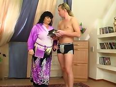 Granny Victoria   Anthony 5 porn tube video