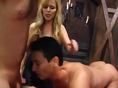 Cum on command for mistress
