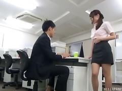 Stunning Japanese cutie is still good at the good old cock riding
