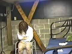 Amateur Mistress punish her sissy slut 02