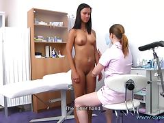 Victoria Gyno Exam tube porn video