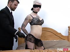 Bound, Big Cock, Big Tits, Blonde, Bondage, Bound