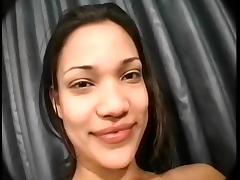 Gorgeous Latin college girl  Motel Fuck