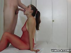Bodystocking Oral Riding Creampie tube porn video