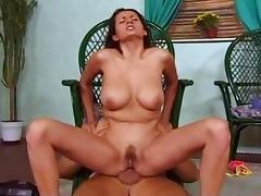 Horny pornstar in amazing dildos/toys, brunette xxx movie