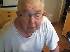 Grandpa show on cam tube porn video