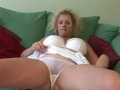 Mature Fetish, Blonde, Masturbation, Mature, Old, Panties