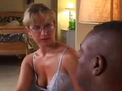 Cougar, Anal, Blonde, Blowjob, Cougar, Couple