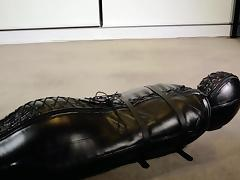 Bound, BDSM, Bondage, Bound, Leather, Orgasm