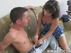 Old Tutor Rewards Two Boys With DP Anal