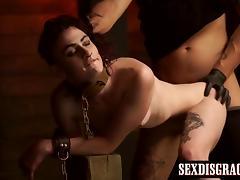 Bound, BDSM, Black, Bondage, Bound, Hardcore