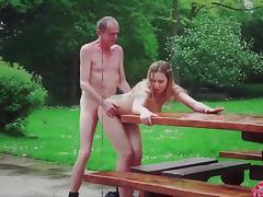 Big tits young hottie gangbang fucking 5 old men tube porn video