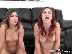 Karlie Montana & Shyla Jennings in Karlie and Shyla - WildOnCam and FUCKING!
